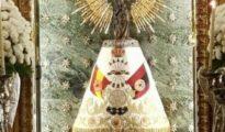El manto de la Virgen del Pilar donado por Falange Española / HOY ARAGÓN