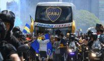 El autocar de Boca Juniors