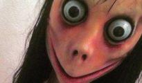 La terrorífica imagen de Momo.