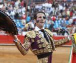 Juan José Padilla, en la Monumental de México