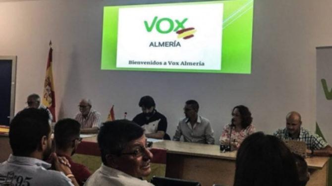 Presentación del Comité Ejecutivo Provincial (CEP) de VOX en Almería (Almería Hoy).