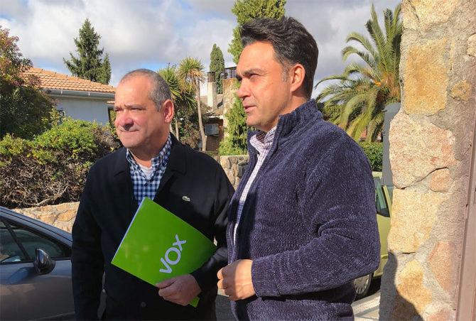 Daniel Molina, a la derecha de la imagen.