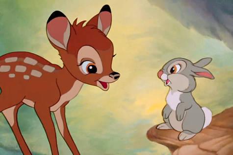 Imagen de la película 'Bambi'.