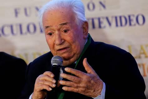 El expresidente colombiano Belisario Betancur, en una imagen de 2016