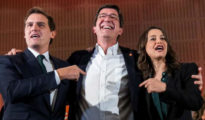 Rivera, Marín y Arrimadas.