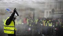 Protestas de los 'chalecos amarillos' en Francia.