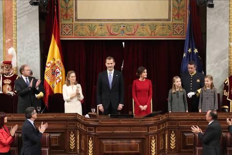 Acto de conmemoración del Día de la Constitución