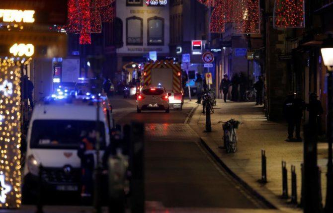 Zona de Estrasburgo en la que se ha producido el tiroteo.