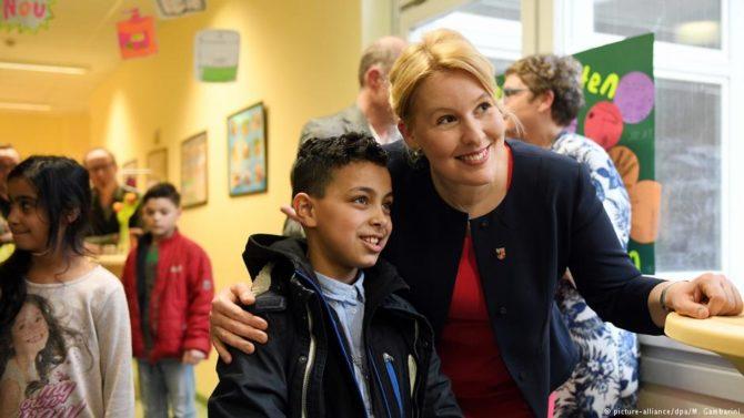 La ministra pervertidora de menores, FranziskaGiffey (DW)