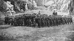 Infantería Española a principios del siglo XX.