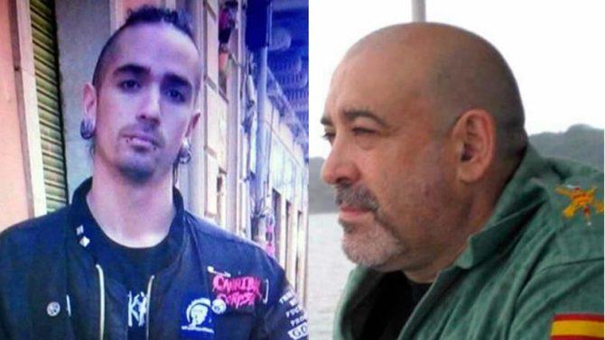 Victor Laínez (d) y su asesino, Rodrigo Lanza.