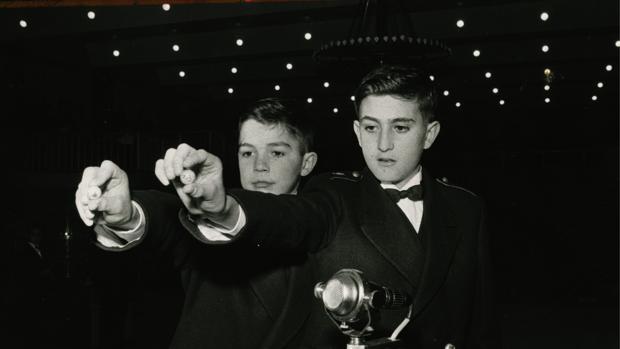 Imagen de un sorteo del año 1963