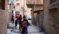 El campamento de refugiados palestinos de Wavel en el Líbano, administrado por UNRWA.