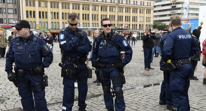 Policía finlandesa