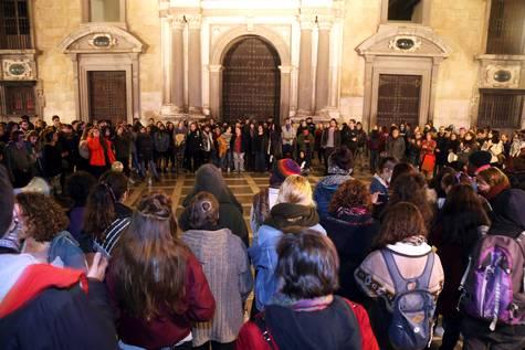 Protestas en Andalucía contra la sentencia de 'La Manada'