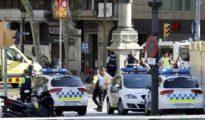 La Rambla de Barcelona tras el atentado de 2017