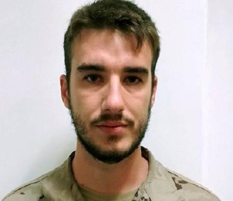 El soldado fallecido Antonio Carrero Jiménez