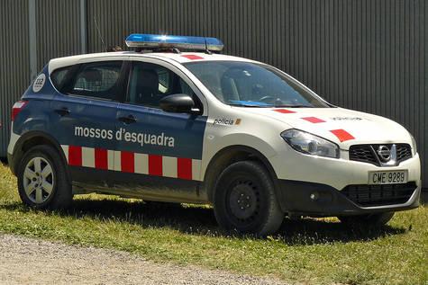 Un vehículo de los Mossos/ Wikipedia