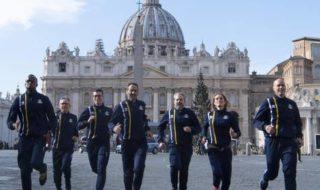 El Vaticano lanza un equipo de 60 atletas de élite con curas, monjas y guardias suizos