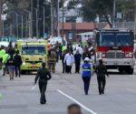 La camioneta entró en la Escuela de Cadetes y segundos después voló por los aires.