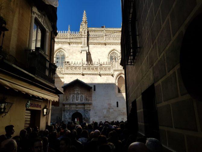 La puerta de la Capilla Real (José Antonio Martín)
