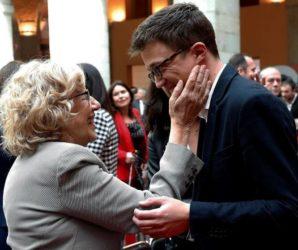 Errejón renuncia a las siglas de Podemos para concurrir con Carmena en las elecciones