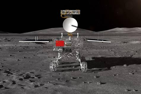 Impresión artística de la sonda facilitada por la CNSA.