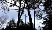 La cruz que se erige en el Valle de los Caídos