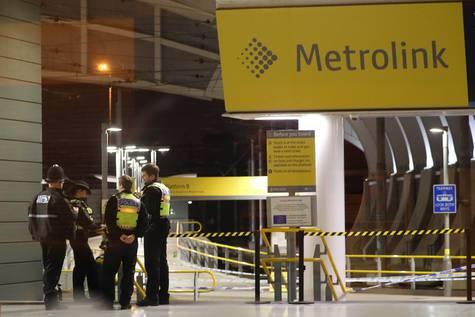 Estación de Manchester donde se produjo el ataque