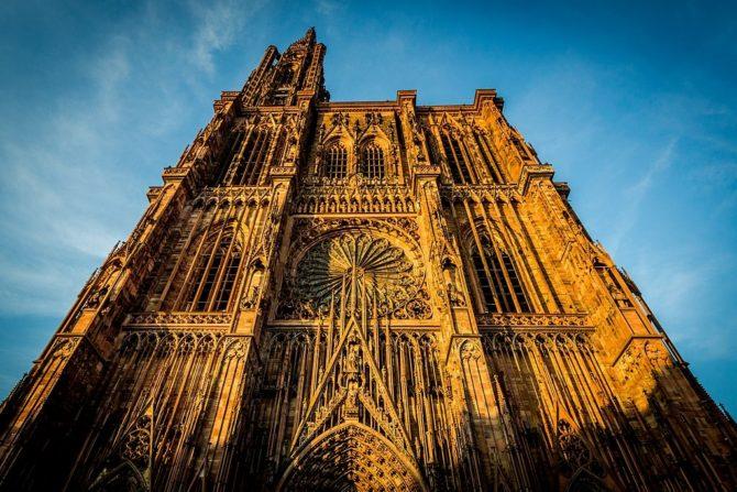 En la imagen, la catedral de Nuestra Señora de Estrasburgo, uno de los templos cristianos europeos más conocidos.