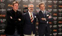 El director y los productores de «Campeones», la película favorita de los Goya 2019