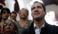 Juan Guaidó asiste a misa este domingo en Caracas