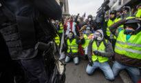 En la imagen, una protesta de Chalecos Amarillos en París, el pasado 15 de diciembre.