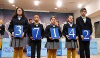 El primer premio de la lotería del Niño ha recaído en el número 37142.