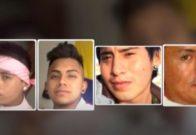 En la imagen, los rostros de la Manada de Callosa, Alicante