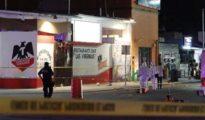 Los peritos forenses recaban información en la zona del restaurante bar «Las Virginias» en Playa del Carmen