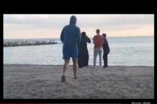Fotograma del chapucero video.