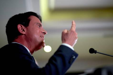 El exprimer ministro francés y aspirante a la Alcaldía de Barcelona, Manuel Valls.
