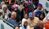 Venezolanos emigrando a Ecuador