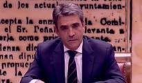 Victorino Martín, en el Senado / Imagen: Youtube