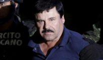 'El Chapo' Guzmán, en una imagen de archivo durante su traslado de prisión.