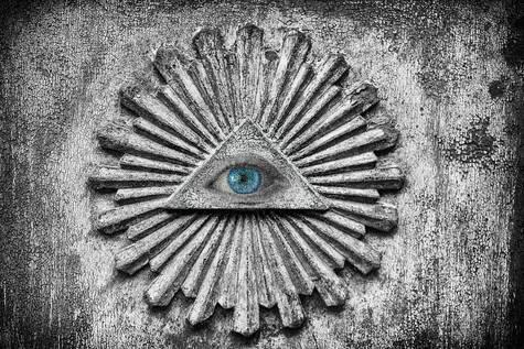 Símbolo 'Illuminati'.