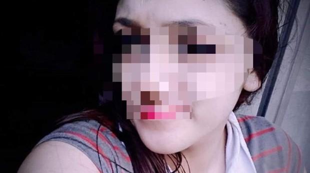Supuesta imagen de la joven, difundida por las redes sociales - crónica.ar