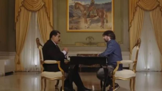 Nicolás Maduro y Jordi Évole, durante una entrevista en Venezuela - La Sexta