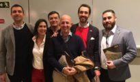 El equipo de Vox Cantabria, en una imagen en su Twitter - Vox