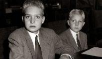 Juan Carlos y su hermano, Alfonso de Borbón