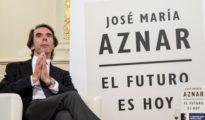 José María Aznar, en la presentación de su libro