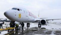 Un Boeing 717 MAX 8 de Ethiopian Airlines.