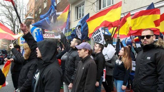 Una manifestación de Hogar Social en Madrid.