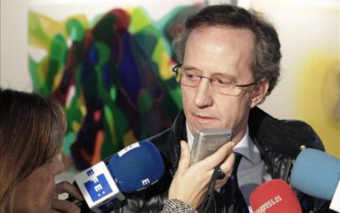 El portavoz y patrono de la Fundación Francisco Franco, Jaime Alonso